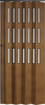 Shrnovací dveře koženkové šířka do 90cm